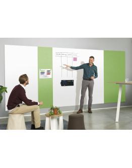 Панель стеновая шумопоглощающая 490x1980 зеленая Magnetoplan Infinity Wall X Acoustics Apple-Green (1010215)