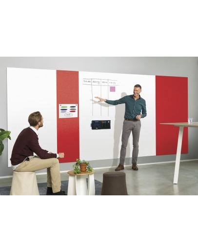 Панель стеновая шумопоглощающая 980x1980 красная Magnetoplan Infinity Wall X Acoustics Red (1011106)