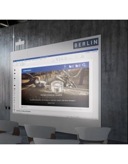 Панель стеновая магнитно-проекционная 1180x1890 Magnetoplan Infinity Wall X Projection (1041401)