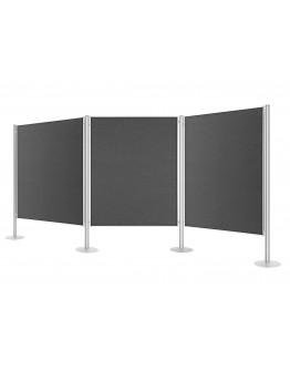 Система перегородок стационарная 3905 Magnetoplan Displayboards Set 3 (1101003)