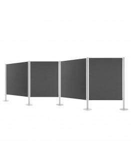 Система перегородок стационарная 5185 Magnetoplan Displayboards Set 4 (1101004)