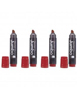 Маркеры для бумаги Magnetoplan Jumbo Red Set (1111502)