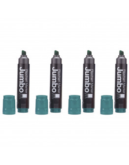 Маркеры для бумаги Magnetoplan Jumbo Green Set (1111504)