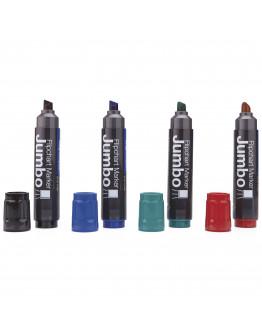 Маркеры для бумаги разноцветные Magnetoplan Jumbo Assorted Set (1111505)