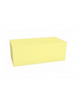 Карточки модерации прямоугольные 200x100 желтые Magnetoplan Rectangle Yellow Set (111151502)