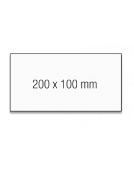 Карточки модерации прямоугольные 200x100 бледно-синие Magnetoplan Rectangle Blue Set (111151503)