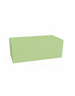 Карточки модерации прямоугольные 200x100 зеленые Magnetoplan Rectangle Green Set (111151505)