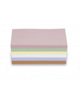 Карточки модерации прямоугольные 200x100 разноцветные Magnetoplan Rectangle Assorted Set (111151510)