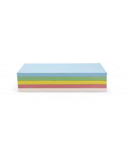 Карточки-самоклейки прямоугольные 200x95 разноцветные Magnetoplan Rectangle Assorted Set (111151590)
