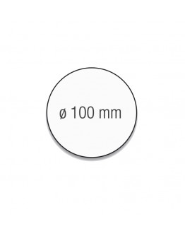 Карточки модерации круглые 100 белые Magnetoplan Round White Set (111151600)
