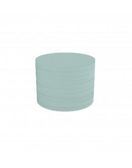 Карточки модерации круглые 100 бледно-синие Magnetoplan Round Blue Set (111151603)