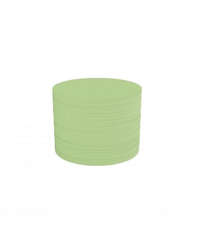 Карточки модерации круглые 100 Magnetoplan Round Green Set (111151605)