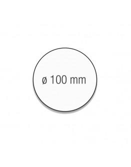 Карточки модерации круглые 100 зеленые Magnetoplan Round Green Set (111151605)