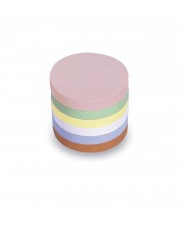 Карточки модерации круглые 100 разноцветные Magnetoplan Round Assorted Set (111151610)