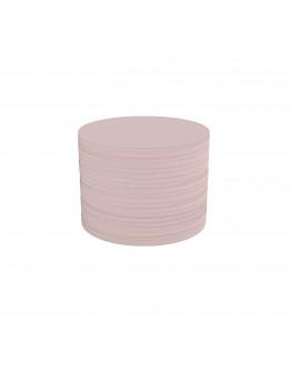 Карточки модерации круглые 100 бледно-розовые Magnetoplan Round Pink Set (111151618)