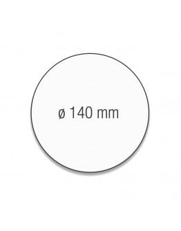 Карточки модерации круглые 140 белые Magnetoplan Round White Set (111151700)
