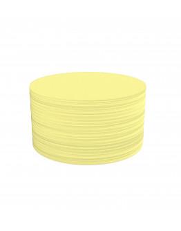 Карточки модерации круглые 140 желтые Magnetoplan Round Yellow Set (111151702)