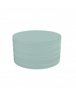 Карточки модерации круглые 140 бледно-синие Magnetoplan Round Blue Set (111151703)