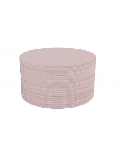 Карточки модерации круглые 140 бледно-розовые Magnetoplan Round Pink Set (111151718)