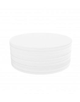 Карточки модерации круглые 190 белые Magnetoplan Round White Set (111151800)