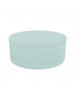 Карточки модерации круглые 190 бледно-синие Magnetoplan Round Blue Set (111151803)