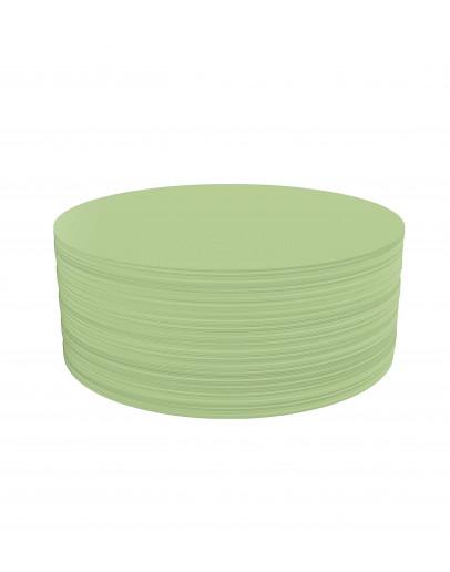 Карточки модерации круглые 190 Magnetoplan Round Green Set (111151805)