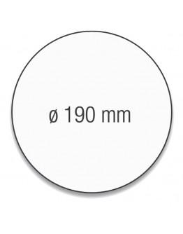 Карточки модерации круглые 190 бледно-розовые Magnetoplan Round Pink Set (111151818)