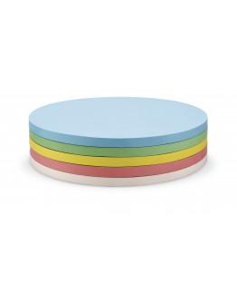 Карточки-самоклейки круглые 190 разноцветные Magnetoplan Round Assorted Set (111151890)