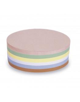 Карточки модерации овальные 190x110 разноцветные Magnetoplan Oval Assorted Set (111151910)