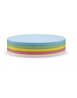 Карточки-самоклейки овальные 190x110 разноцветные Magnetoplan Oval Assorted Set (111151990)