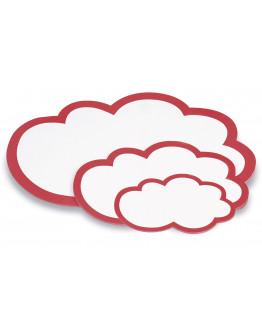 Карточки-облака 230x145 Magnetoplan Seminar Clouds Set (111152002)