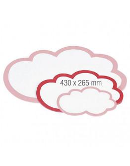 Карточки-облака 430x265 Magnetoplan Seminar Clouds Set (111152003)