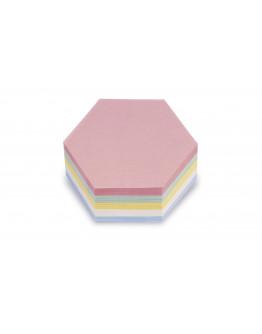 Карточки модерации гексагональные 190x165 Magnetoplan Comb Assorted Set (111152310)