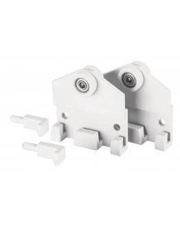 Крючки роликовые Magnetoplan Wall Rail Ball-Bearings Hooks Set (1111530R)