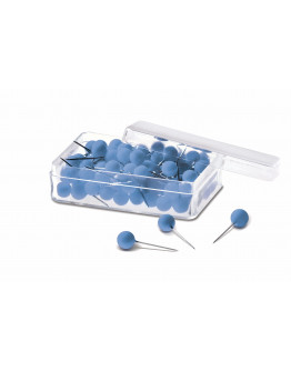 Булавки-бусины 19 синие Magnetoplan Pins Ball Blue Set (111165003)
