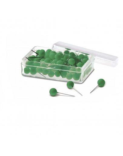 Булавки-бусины 19 зеленые Magnetoplan Pins Ball Green Set (111165005)