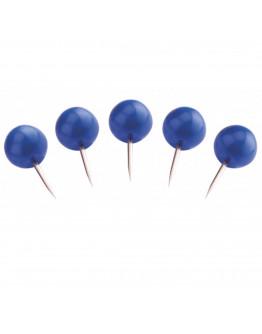 Булавки-бусины 17 синие Magnetoplan Pins Ball Blue Set (111165103)