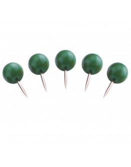 Булавки-бусины 17 зеленые Magnetoplan Pins Ball Green Set (111165105)