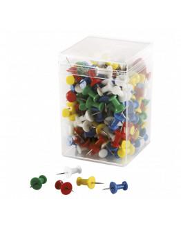 Булавки-гвоздики 23 разноцветные Magnetoplan Pins Memo-holder Assorted Set (111165110)