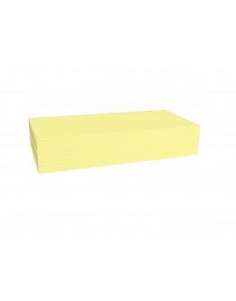 Карточки модерации прямоугольные 200x100 желтые Magnetoplan Rectangle Yellow Set (112501502)