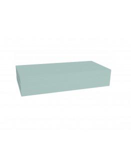 Карточки модерации прямоугольные 200x100 бледно-синие Magnetoplan Rectangle Blue Set (112501503)