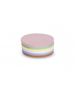 Карточки модерации круглые 100 разноцветные Magnetoplan Round Assorted Set (112501610)