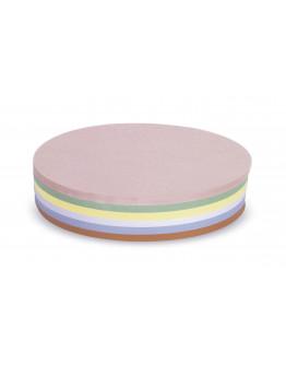 Карточки модерации круглые 190 разноцветные Magnetoplan Round Assorted Set (112501810)