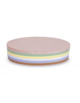 Карточки модерации овальные 190x110 разноцветные Magnetoplan Oval Assorted Set (112501910)
