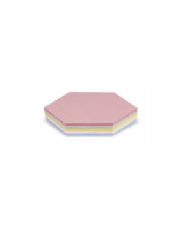 Карточки модерации гексагональные 190x165 Magnetoplan Comb Assorted Set (112502310)