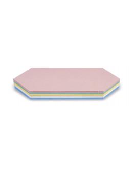 Карточки модерации гексагональные 297x165 Magnetoplan Kingsize Comb Assorted Set (112502410)