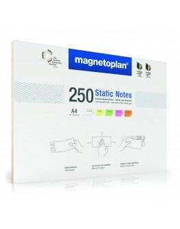Карточки маркерные полимерные A4 Magnetoplan Static Notes Assorted Set (11250410)