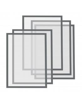 Рамки магнитные A4 Magnetofix Frame Gray Set (1130301)