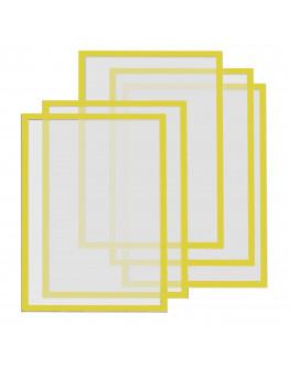 Рамки магнитные A4 Magnetofix Frame Yellow Set (1130302)
