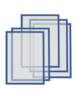 Рамки магнитные A4 Magnetofix Frame Blue Set (1130303)